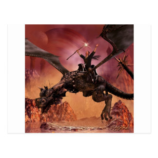 Cartão Postal Senhor do dragão