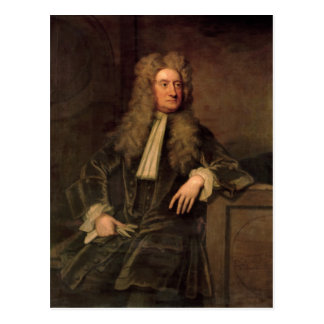 Cartão Postal Senhor Isaac Newton