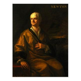 Cartão Postal Senhor Isaac Newton, 1710