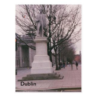 Cartão Postal Senhor John Cinza Monumento, St. de O'Connell,