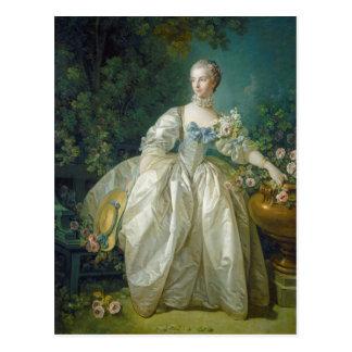 Cartão Postal Senhora Bergeret, C. 1766 (óleo em canvas)