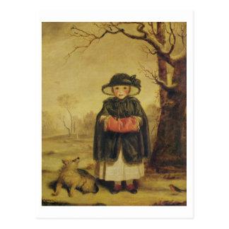 Cartão Postal Senhora Caroline Montagu, c.1776 (óleo em canvas)