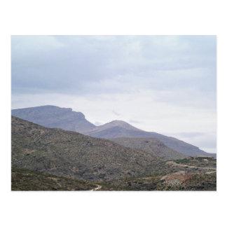 Cartão Postal Senhora da montanha Alamogordo New mexico