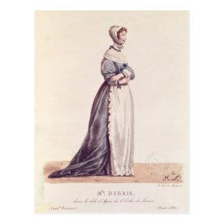 Cartão Postal Senhora Debrie no papel de Agnes
