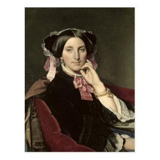 Cartão Postal Senhora Gonse, 1852