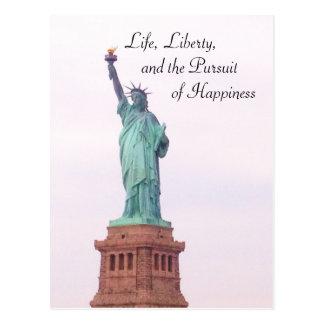Cartão Postal Senhora Liberdade