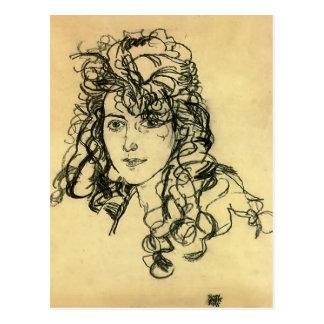 Cartão Postal Senhora Sohn de Egon Schiele-