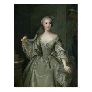 Cartão Postal Senhora Sophie de France como um Virgin de Vestal