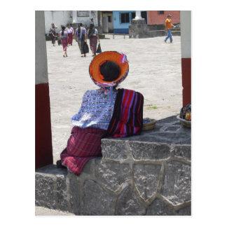 Cartão Postal Senhora tribal