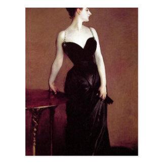 Cartão Postal Senhora X de John Singer Sargent (senhora Pierre