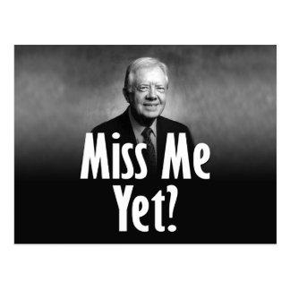 Cartão Postal Senhorita Me Ainda? Jimmy Carter