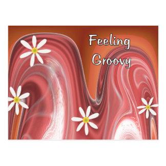 Cartão Postal Sentimento Groovy