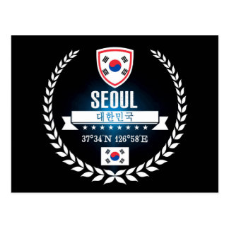 Cartão Postal Seoul