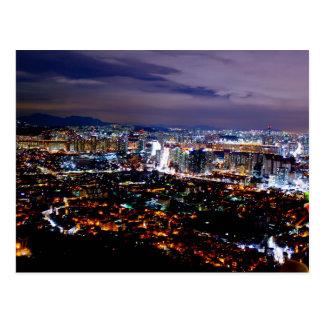 Cartão Postal Seoul Coreia