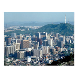 Cartão Postal Seoul, Coreia do Sul