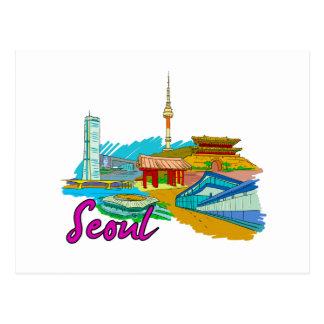 Cartão Postal Seoul - Korea.png sul