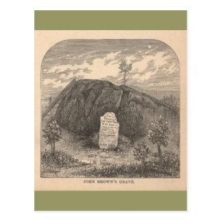 Cartão Postal Sepultura de John Brown