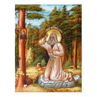 Cartão Postal Seraphim de Sarov
