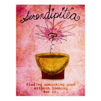 Cartão Postal SerentipiTEA o 19 de fevereiro o que meu chá me