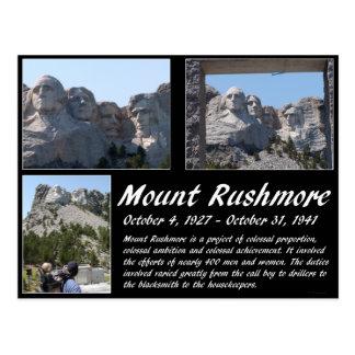 Cartão Postal Série #2 do Monte Rushmore