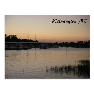 Cartão Postal Série da angra de Wilmington Bradley