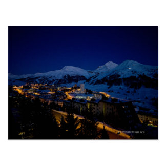 Cartão Postal Sestriere - home do esqui das olimpiadas de