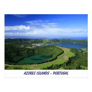 Cartão Postal Sete Cidades, Açores