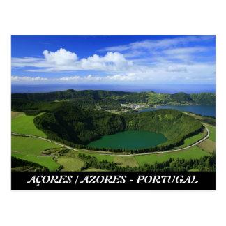 Cartão Postal Sete Cidades - Açores
