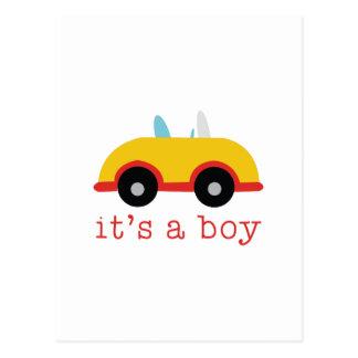 Cartão Postal Seu um menino
