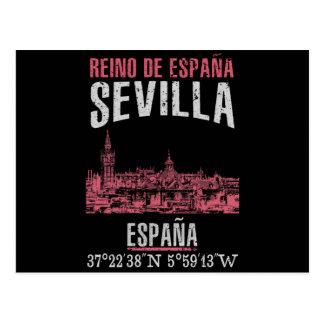 Cartão Postal Sevilha