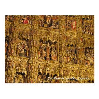 Cartão Postal Sevilla Cathedral (Catedral de Sevilla) ~Spain