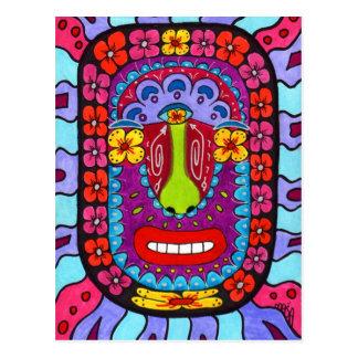 Cartão Postal Shaman #4 da flor