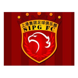 Cartão Postal Shanghai SIPG F.C.
