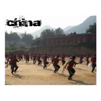 Cartão Postal Shaolin Temple