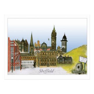 Cartão Postal sheffield - South Yorkshire, fernandes tony