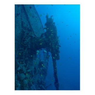 Cartão Postal Shipwreck