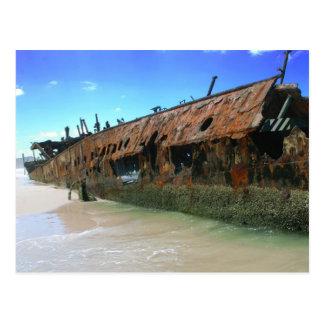 Cartão Postal Shipwreck de Maheno