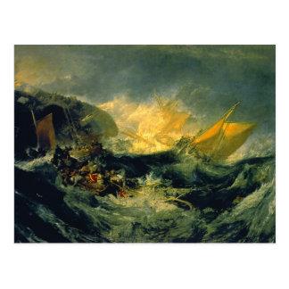 Cartão Postal Shipwreck do Minotaur
