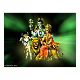 Cartão Postal Shiva