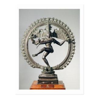Cartão Postal Shiva Nataraja, Tamil Nadu, Chola atrasado