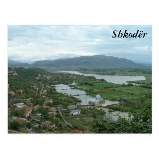 Cartão Postal Shkoder