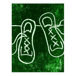 Cartão Postal ShoeStory: Tennies