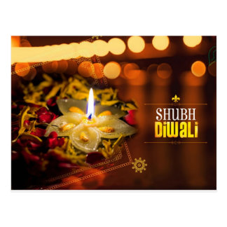 Cartão Postal Shubh Diwali