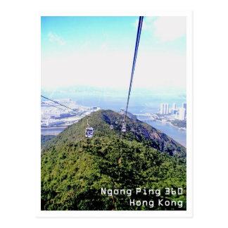 Cartão Postal Sibilo 360 de Ngong, Hong Kong