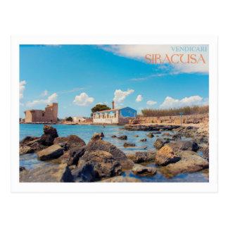 Cartão Postal Sicília - Siracusa - Almodrava di Vendicari