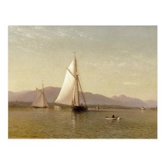 Cartão Postal Silva de Francis Augustus - o Hudson no Tappan
