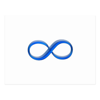 Cartão Postal Símbolo da infinidade