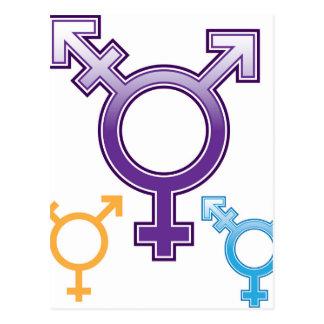 Cartão Postal Símbolo da sexualidade