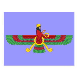 Cartão Postal Símbolo de Faravahar