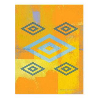 Cartão Postal Símbolo do espiritual do nativo americano